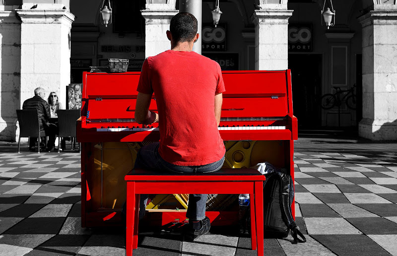 La musica non ha colore . di Ocram