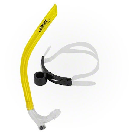 Snorkel Finis orginal Senior gul