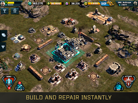 War Commander: Rogue Assault APK screenshot thumbnail 4