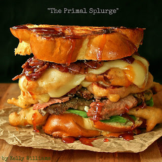 """The Primal Splurge"" Grilled Cheese"