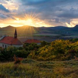 Autumn in Stredohori by Jiri Komurka - Landscapes Sunsets & Sunrises