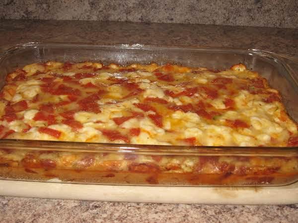 Pepperoni Pie Recipe