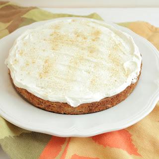 Single-Layer, Gluten-Free Carrot Cake.