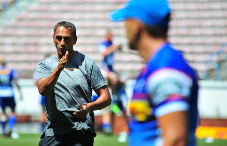 The DHL Stormers new defence coach Paul Treu during a training session and press conference at Newlands on February 08, 2018 in Cape Town, South Africa.