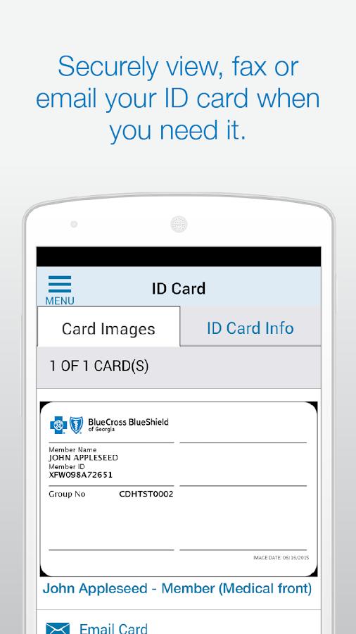 Blue Cross Blue Shield of GA - screenshot