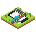 GPS A Phone Location icon