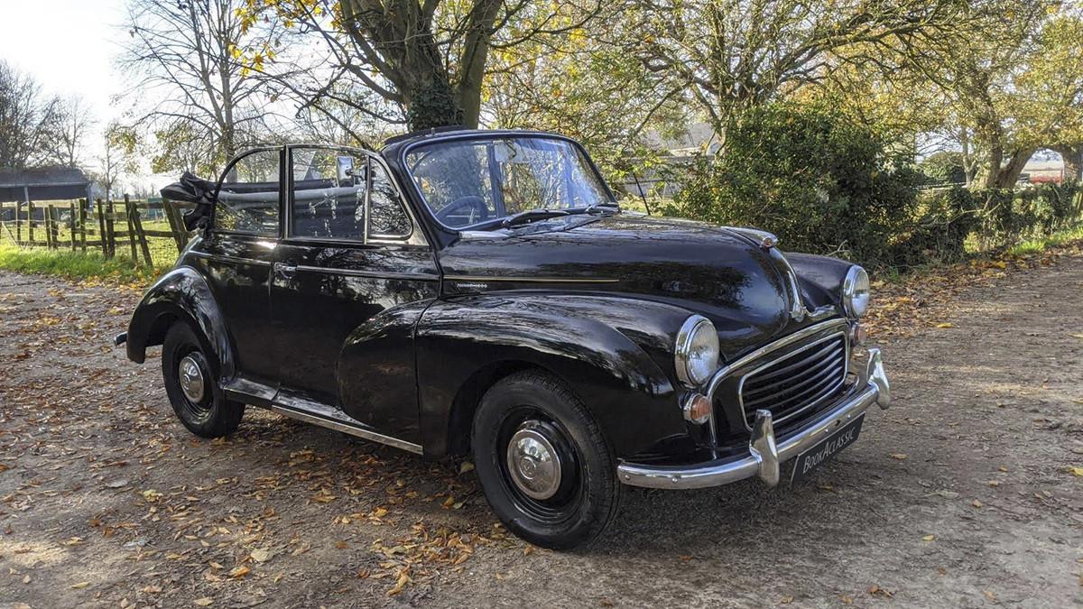 Morris Minor 1000 Convertible Hire Canterbury