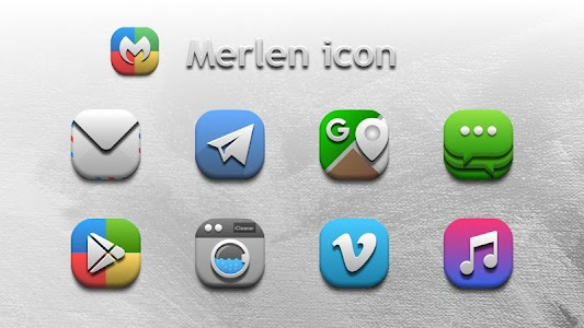 Merlen Icon Pack 2.0.5 (Patched)