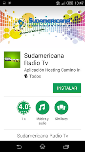 Sudamericana Radio Tv - náhled