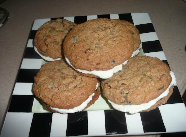 Inside-out Carrot Cake Cookies Recipe