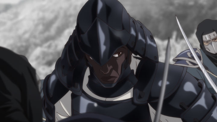 Yasuke in full armour