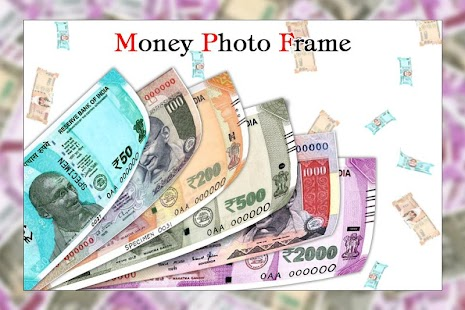 New Currency Note Photo Frame / Money Photo Frame - náhled