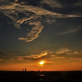 Sunset by Praveen Kulshreshtha - Landscapes Sunsets & Sunrises (  )