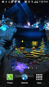 Floating Island Parallax LWP screenshot 4