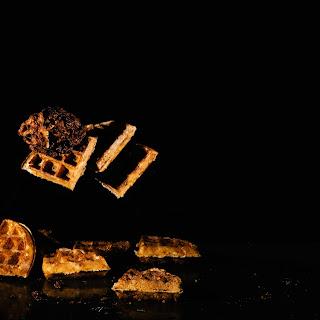 Crispy Buttermilk Yeasted Rye Waffle.
