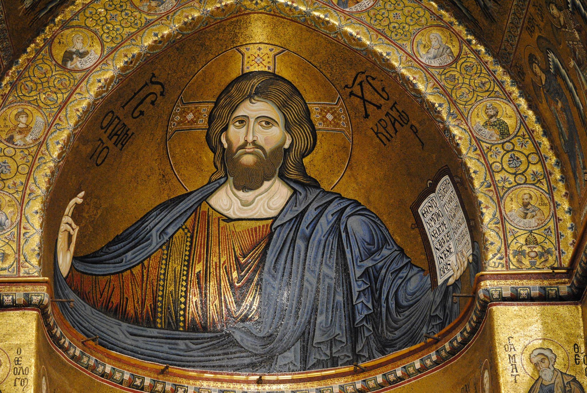 My Photos: Italy -- Sicily -- Palermo -- Monreale -- Cathedral Mosaics