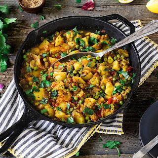 Bombay Potatoes and Peas Recipe