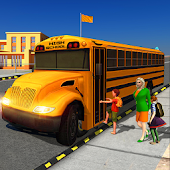 High School Bus : City Traffic Simulator