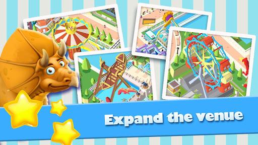 Idle Park Tycoon - Dinosaur Theme Park apkpoly screenshots 9