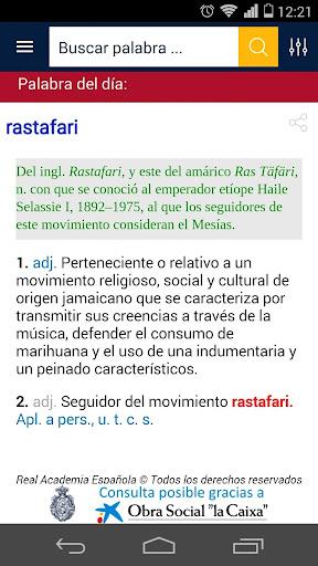 Diccionario RAE y ASALE (DLE)  screenshots 1