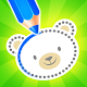 Baby drawing for kids - easy animal drawings Apk