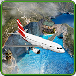 Fly Airplane Simulator 3D Icon