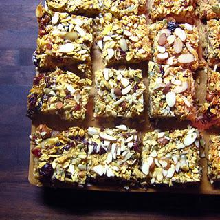 Cherry-Chocolate Peanut Butter Bars.