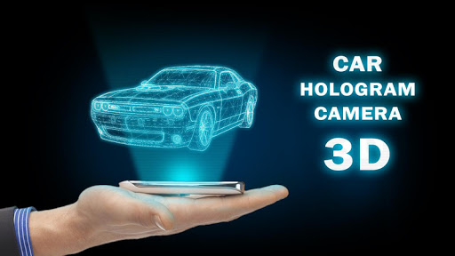 Car Hologram Camera 3D