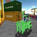 Forklift Cargo Crane Challenge icon