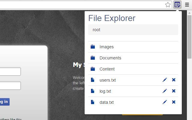 HTML5FS File Editor