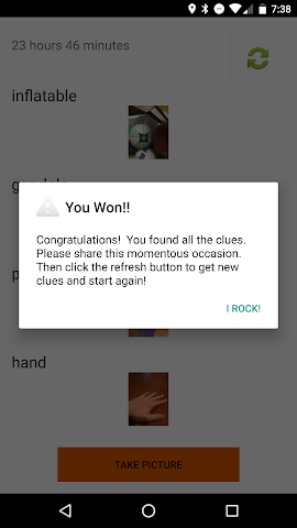 android Photo Scavenger Hunt Screenshot 7