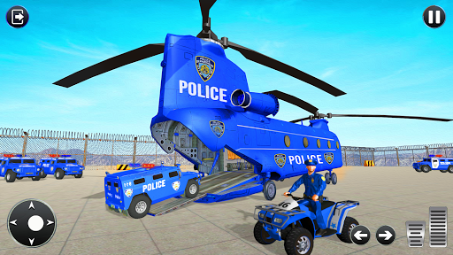 Grand Police Transport Truck screenshot 3