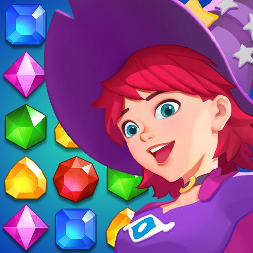 Jewel match crush - Jewels witch