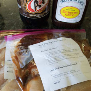 Root Beer BBQ Chicken Freezer Meal Recipe