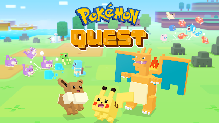 Pokémon Quest Android App Screenshot