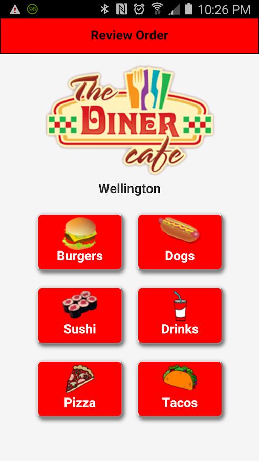 Restaurant Menu App Maker Demo Android Apps On Google Play
