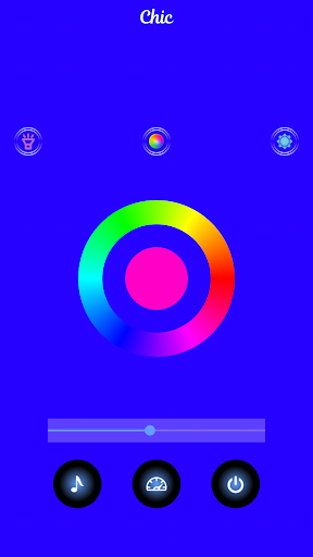 Strobe Light ud83dudea6 LED Flashlight & Music Strobe 1 screenshots 2