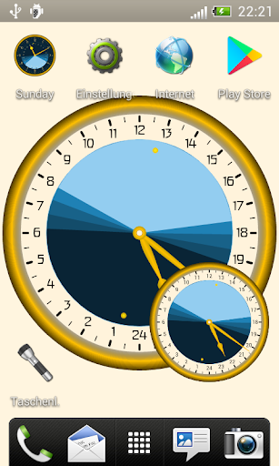 Sunday - Astronomical Clock Widget screenshot 1