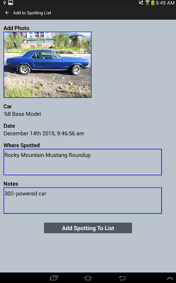 Early Mustang Guide- screenshot