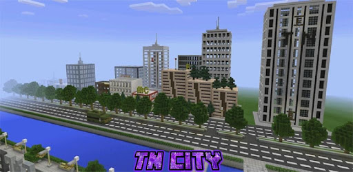 Map TN City for Minecraft PE app (apk) free download for Android/PC/Windows screenshot