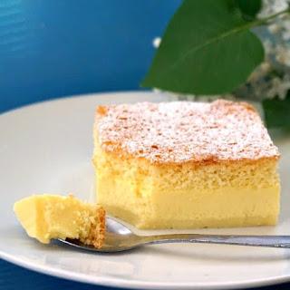 Vanilla Magic Cake.
