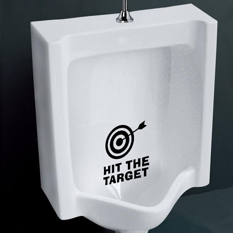 hit the target vinyl wall stickers quotes removable. Black Bedroom Furniture Sets. Home Design Ideas