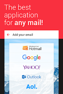 myMail – Email for Hotmail, Gmail and Outlook Mail - náhled