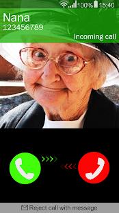 Přijměte falešné volání - náhled
