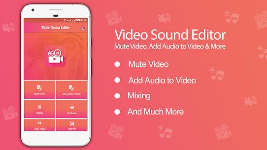 Video Sound Editor: Add Audio, Mute, Silent Video apk download 1