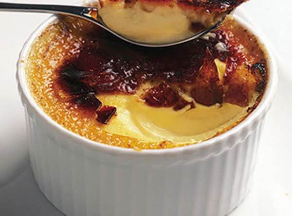 Classic Creme Brulee With Chocolate Dipped Vanilla Biscotti Recipe