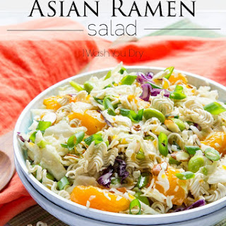 Classic Asian Ramen Salad Recipe
