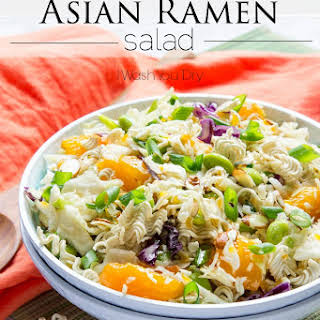 Classic Asian Ramen Salad.