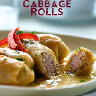 Slow Cooked Cabbage Rolls