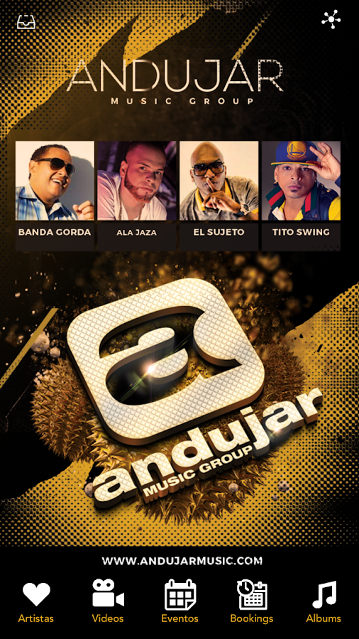 Andujar Music.- screenshot